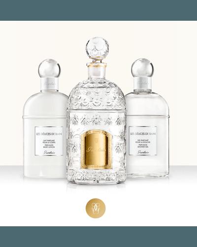 Guerlain Les Delices de Bain Perfumed Body Lotion. Фото 2
