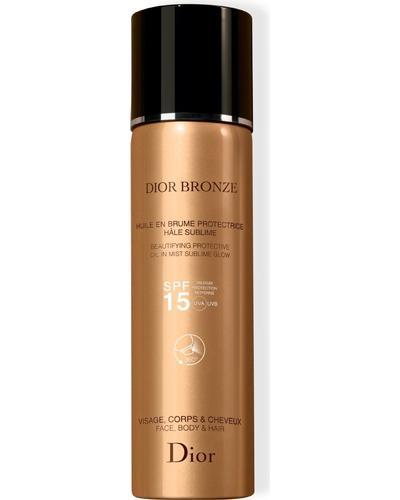Dior Cонцезахисна олія Bronze Protective Sublim Glow  SPF 15