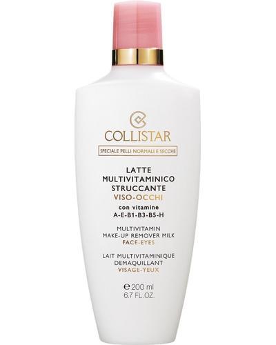 Collistar Молочко для снятия макияжа мультивитаминное Multivitamin Make-Up Remover Milk Face-Eyes