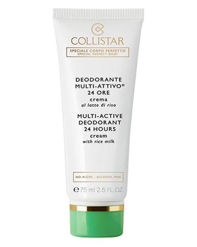 Collistar Multi-Active Deodorant 24 Hours Cream with Rice Milk - alcohol free