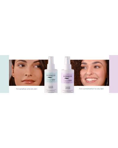 Byphasse Дымка для сухой и чувствительной кожи Face Mist Re-hydrating Sensitive & Dry Skin. Фото 2