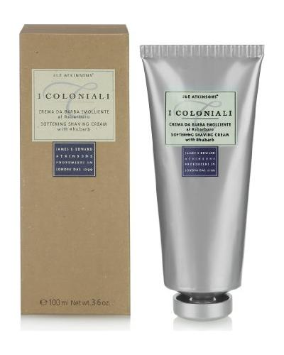 I Coloniali Softening Shaving Cream with Rhubarb. Фото 2