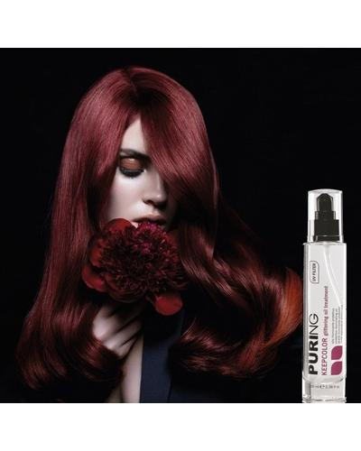 Maxima PURING Keepcolor Glittering Oil Treatment. Фото 2