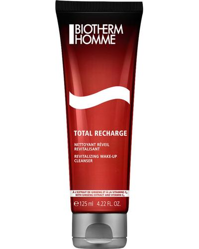 Biotherm Total Recharge Revitalizing Wake-up Cleanser Homme