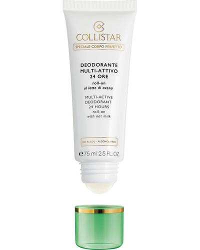 Collistar Шариковый дезодорант с овсяным молочком 24H Multi-Active Deodorant 24 Hours Roll-On with Oat Milk - alcohol free