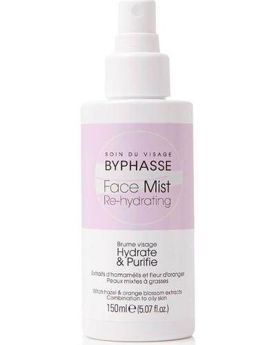 Byphasse Дымка для комбинированной и жирной кожи Face Mist Re-hydrating For Combination To Oily Skin