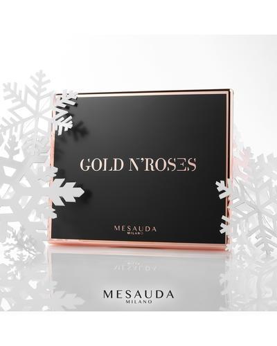 MESAUDA Палетка теней для глаз Gold n'Roses. Фото 1