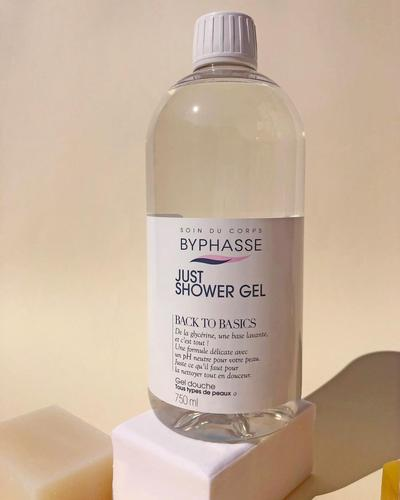 Byphasse Just Shower Gel Back To Basics All Skin Types фото 1