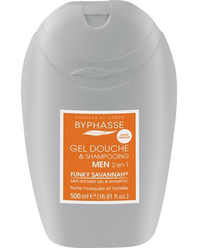 Byphasse Гель-шампунь 2 в 1 для мужчин Gel Douche-Shampooing 2 en 1