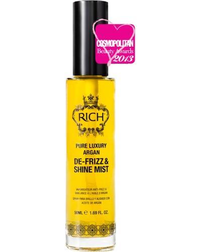 RICH Pure Luxury Argan De-Frizz & Shine Mist. Фото 4