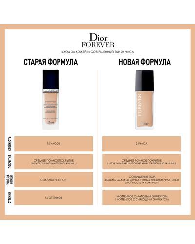 Dior Стойкий увлажняющий тональный крем для сияющего покрытия Forever Skin Glow. Фото 2