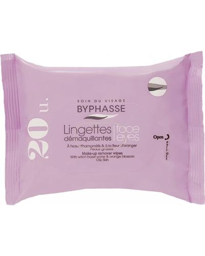 Byphasse Очищуючі серветки Make-up Remover Wipes Witch Hazel Water & Orange Blossom