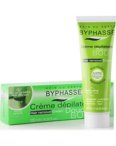 Byphasse Hair Removal Cream Aloe Vera. Фото 1