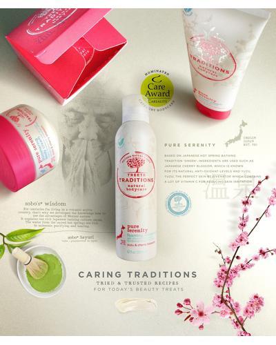 Treets Traditions Крем для душа Pure Serenity Shower Cream. Фото 2
