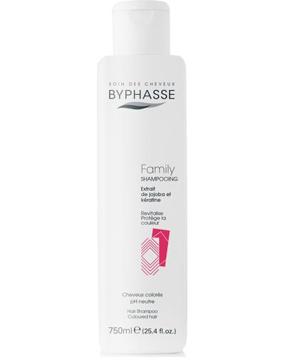 Byphasse Шампунь для волос Family Shampoo Jojoba Extract And Keratin