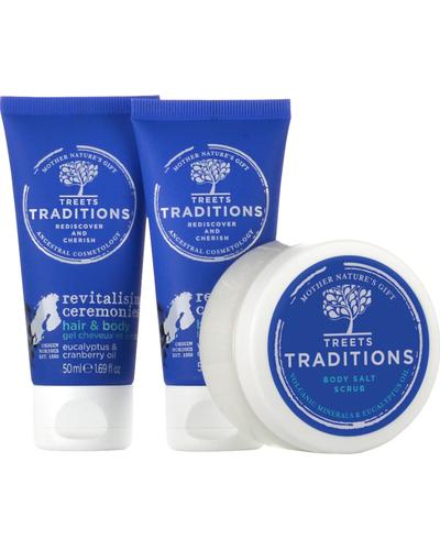 Treets Traditions Revitalising Ceremonies Gift Set Small. Фото 4