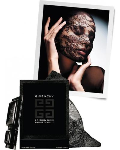 Givenchy Le Soin Noir Lace Face Mask. Фото 8