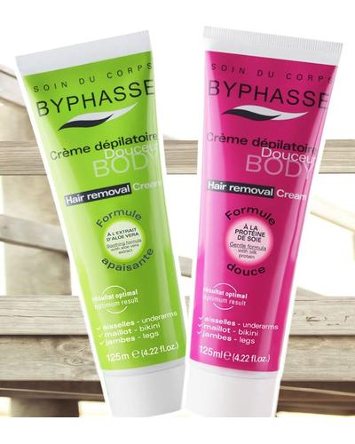 Byphasse Hair Removal Cream Silk Extract. Фото 2