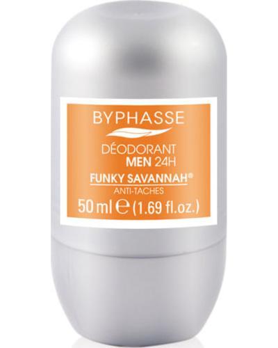 Byphasse Дезодорант роликовый 24h Men Deodorant Funky Savannah