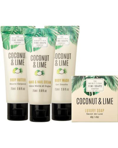 Scottish Fine Soaps Coconut & Lime Luxurious Set. Фото 2