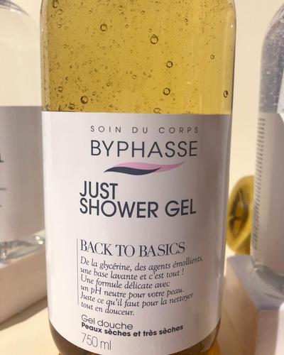Byphasse Just Shower Gel Back To Basics Dry And Very Dry Skin фото 3