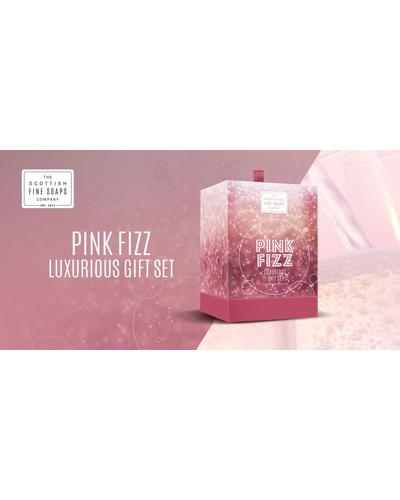 Scottish Fine Soaps Pink Fizz Luxurious Set. Фото 2
