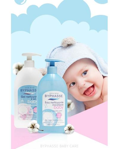 Byphasse Gentle Cleansing Baby Micelar Water. Фото 1