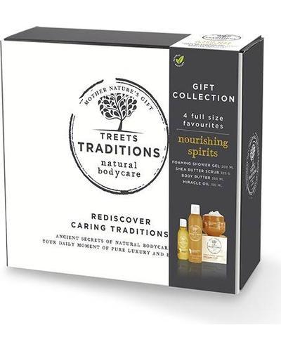 Treets Traditions Подарунковий набір Luxury Gift Set Nourishing Spirits