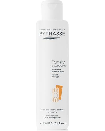 Byphasse Шампунь для всей семьи Family Shampoo Shea Butter And Honey