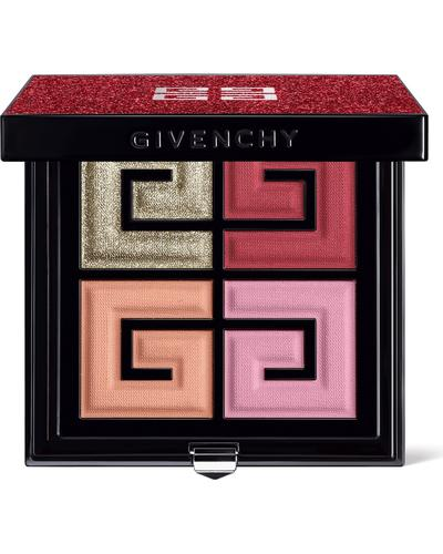 Givenchy Палітра для макіяжу обличчя та очей Red Lights 4 Colors Face & Eyes Palette