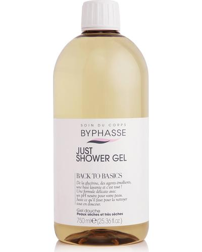 Byphasse Гель для душу Just Shower Gel Back To Basics Dry And Very Dry Skin