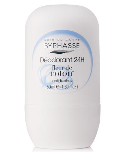 Byphasse Дезодорант роликовий 24h Deodorant Cotton Flower