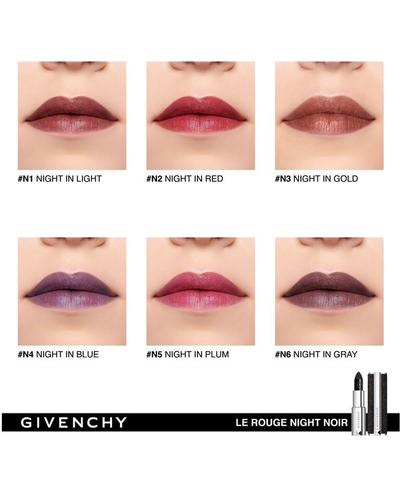 Givenchy Помада з сяючим ефектом Le Rouge Night Noir. Фото 3
