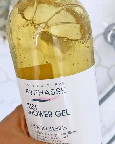 Byphasse Just Shower Gel Back To Basics Dry And Very Dry Skin фото 2