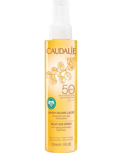 Caudalie Сонцезахисне спрей-молочко для тіла та обличчя Milky Sun Spray SPF50
