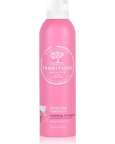 Treets Traditions Relaxing Chakra's Foaming Shower Gel
