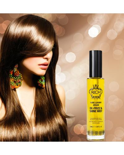 RICH Pure Luxury Argan De-Frizz & Shine Mist. Фото 1