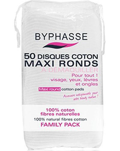 Byphasse Диски для снятия макияжа Maxi Round Cotton Pads