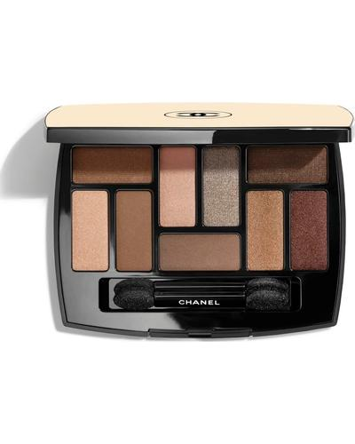 CHANEL Палітра тіней для повік з ефектом природного сяйва Les Beiges Natural Eyeshadow Les Indispensables