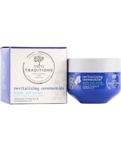 Treets Traditions Revitalising Ceremonies Body Salt Scrub. Фото 4