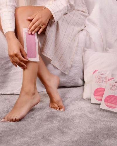Byphasse Полоски для депиляции ног и тела Cold Wax Strips Legs & Body. Фото 1