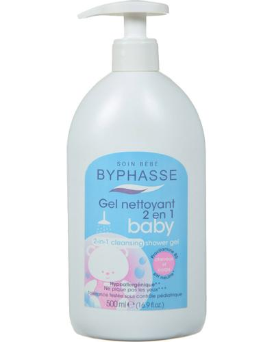 Byphasse Гель для душа детский Gentle 2-in-1 Cleansing Baby Shower Gel