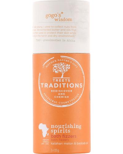 Treets Traditions Nourishing Spirits Bath Fizzers