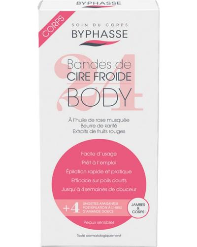 Byphasse Cold Wax Strips Legs & Body главное фото
