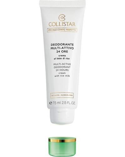 Collistar Кремовый дезодорант с рисовым молочком 24H Multi-Active Deodorant 24 Hours Cream with Rice Milk - alcohol free. Фото 1