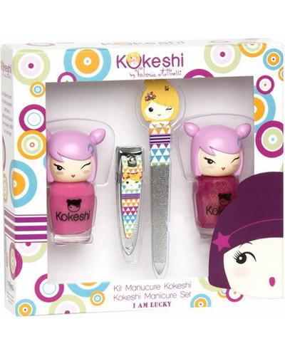Kokeshi Set Manicure By Valeria Attinelli