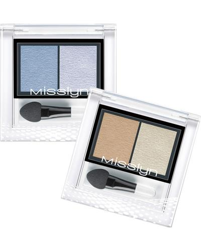 Misslyn High Shine Duo Eyeshadow. Фото 2