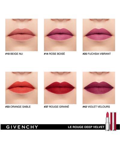 Givenchy Помада з пудровим матовим ефектом Le Rouge Deep Velvet. Фото 1
