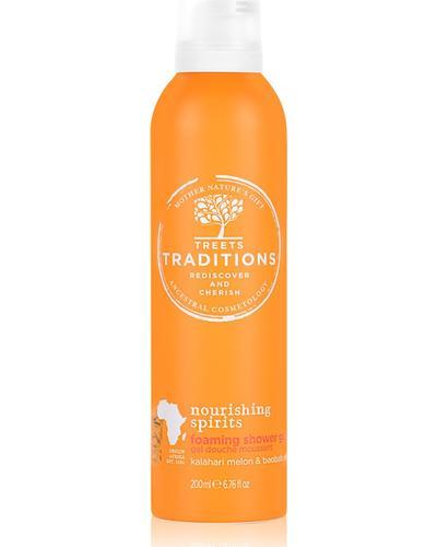 Treets Traditions Nourishing Spirits Foaming Shower Gel