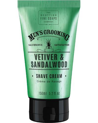 Scottish Fine Soaps Крем для бритья Vetiver & Sandalwood Shave Cream